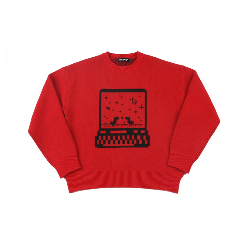 Connection Knit_Red