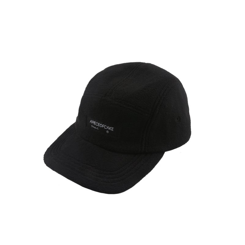 Fleece Camp Cap_Black