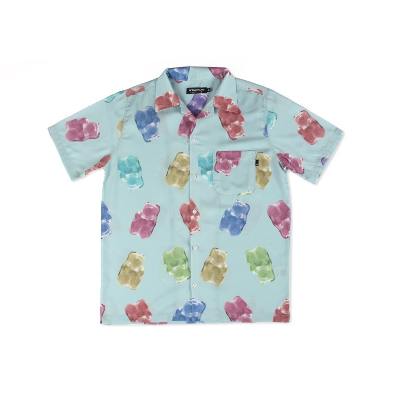[APOC] Multi Gummy Hawaiian Shirts_Blue