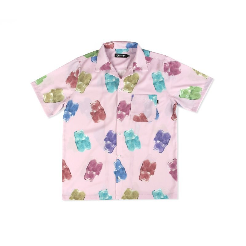 [APOC] Multi Gummy Hawaiian Shirts_Pink