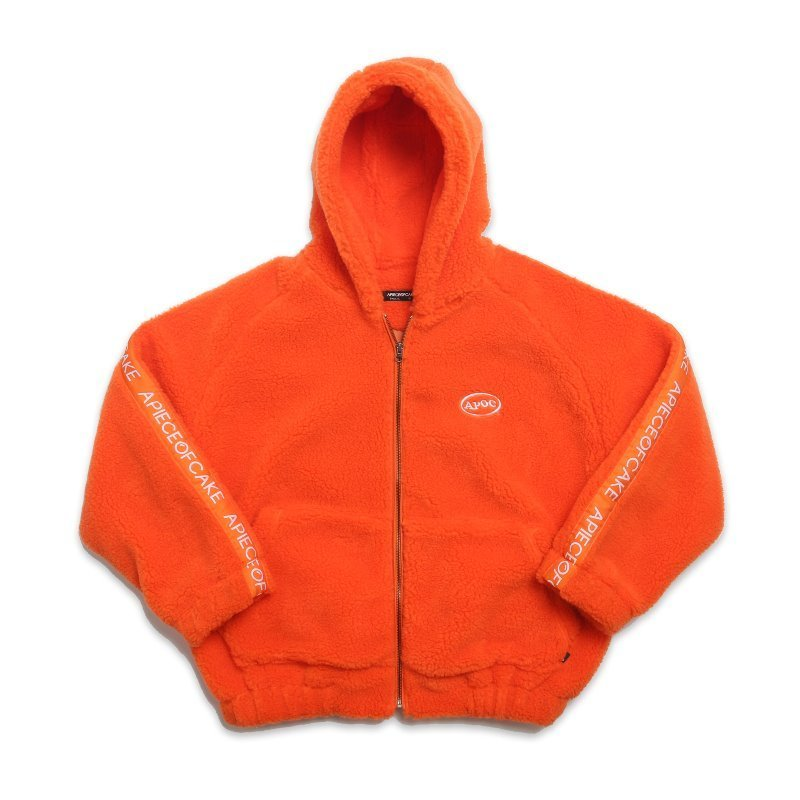 Dumble Hoodie Jacket_Orange
