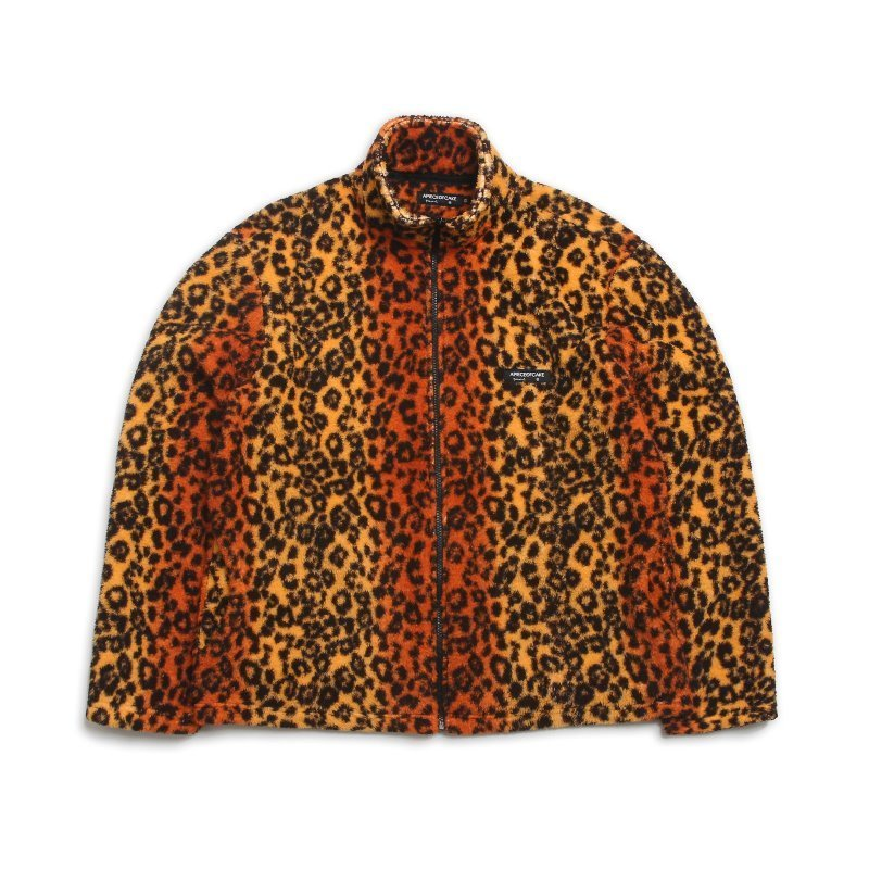 Basic Fleece Jacket_Leopard