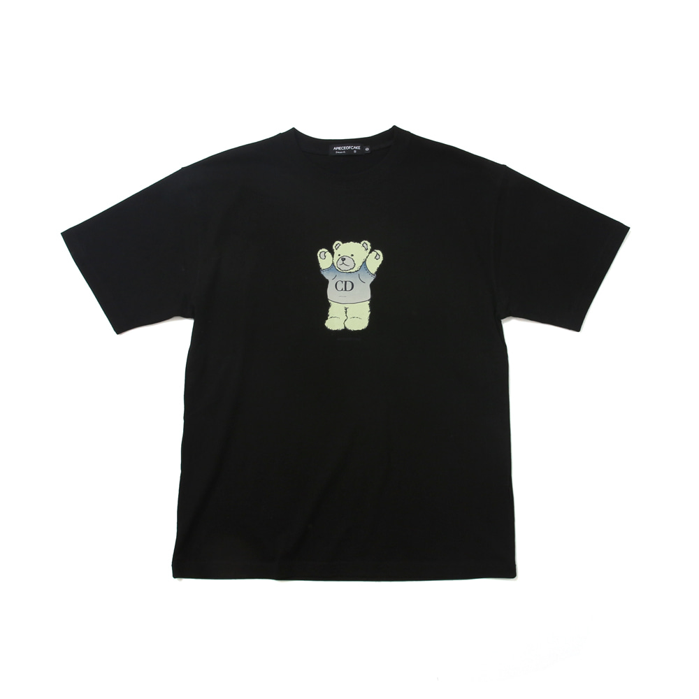 CD Bear T-shirts_Black