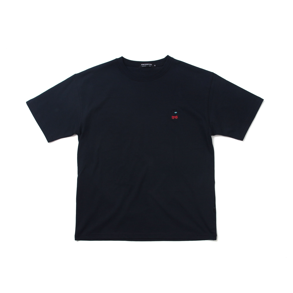 Cherry Bear T-shirts_Navy