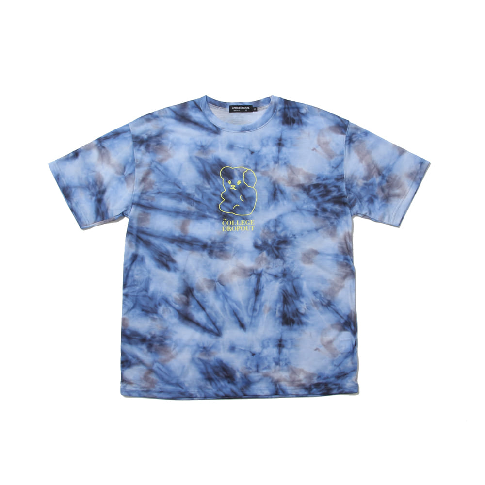 CD Tiedye T-shirts_Blue