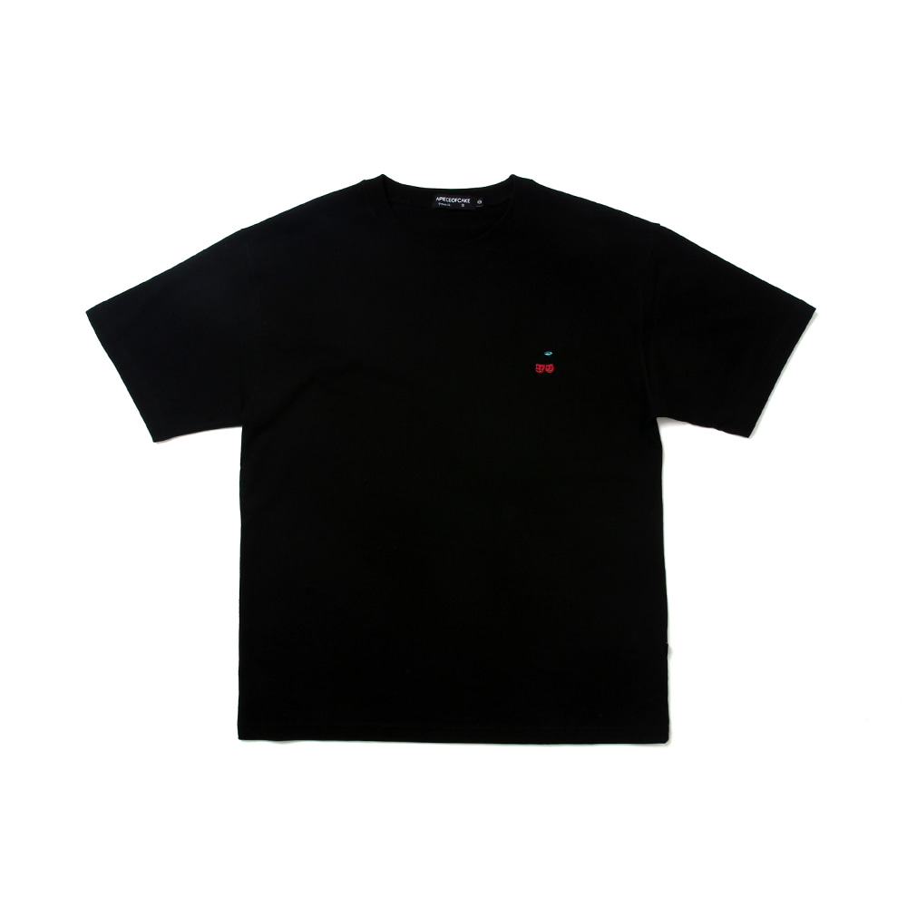 Cherry Bear T-shirts_Black