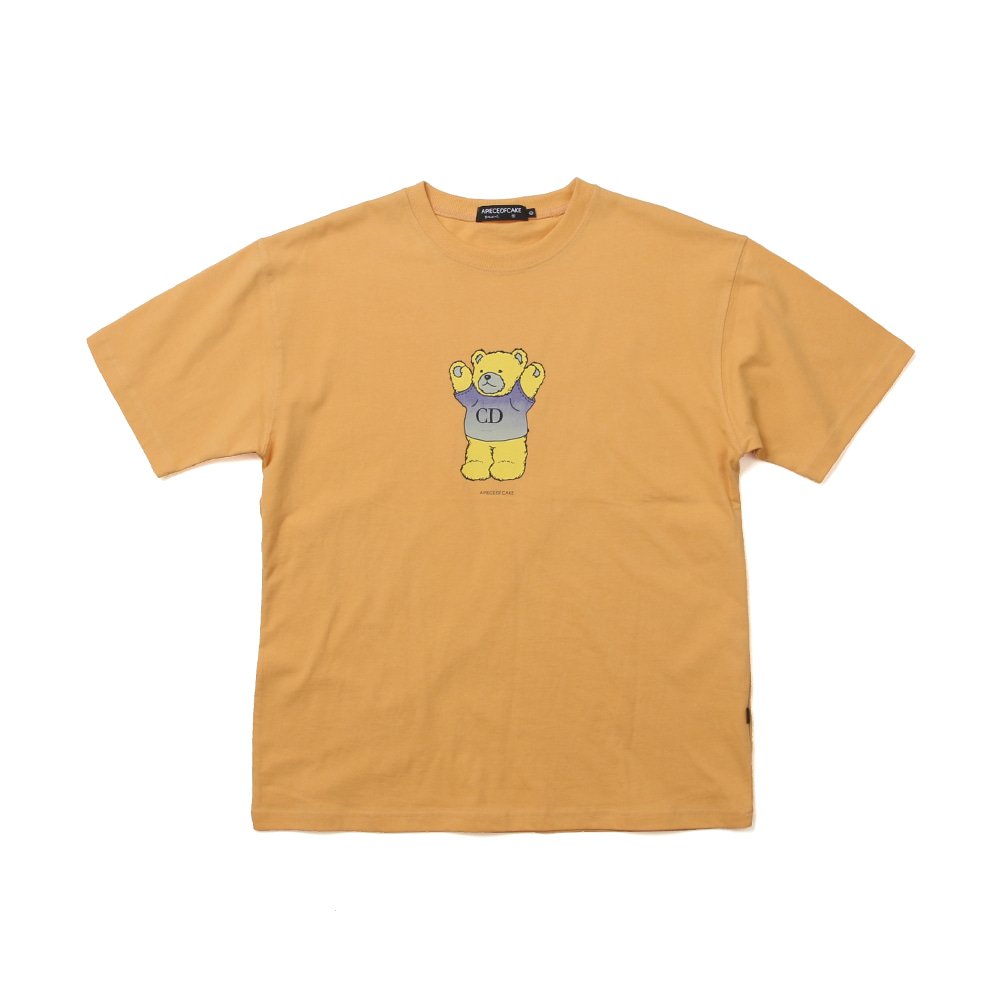 CD Bear T-shirts_Canary