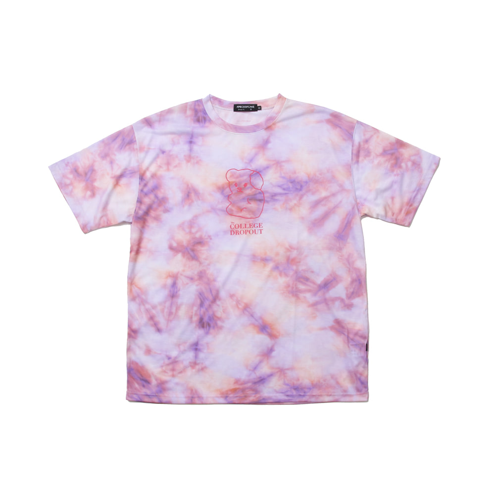 CD Tiedye T-shirts_Purple