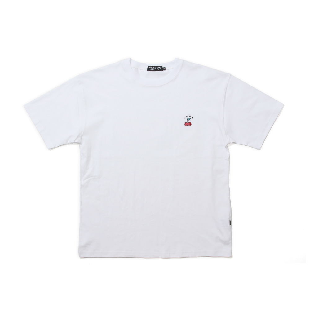Cherry Bear T-shirts_White