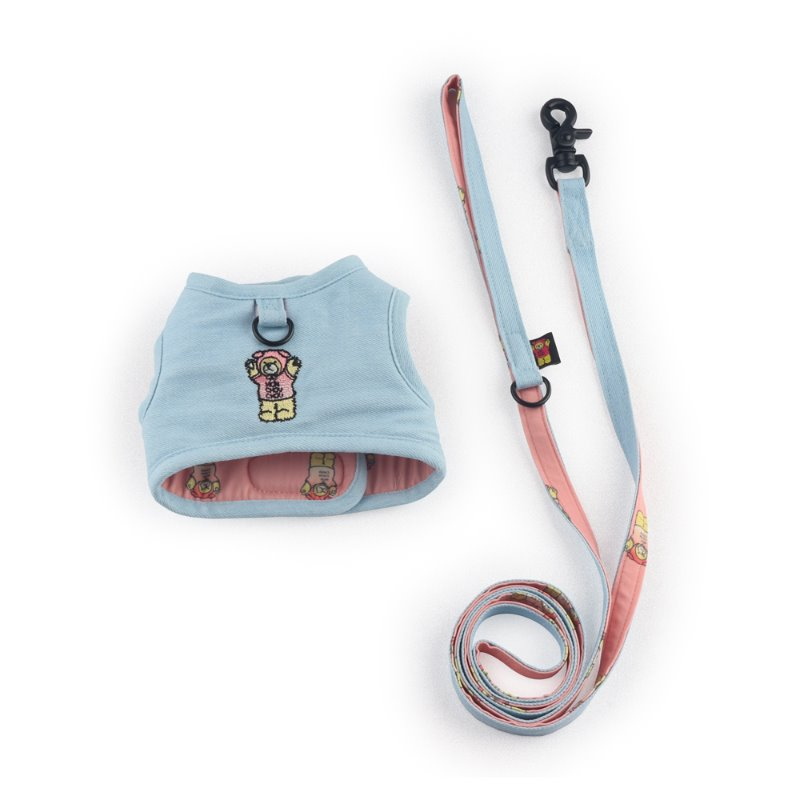 Bear Denim Harness_Light Blue
