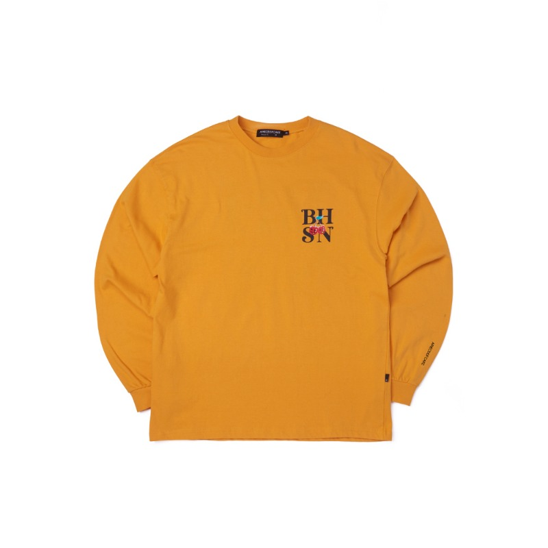 BHSN Longsleeve_Yellow
