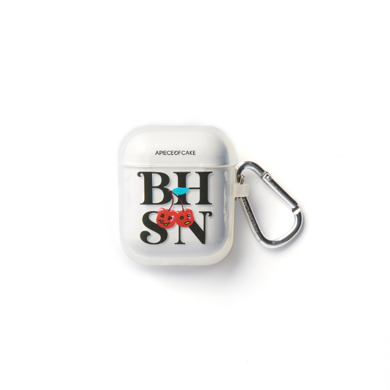 BHSN AIRPODS Case_Clear