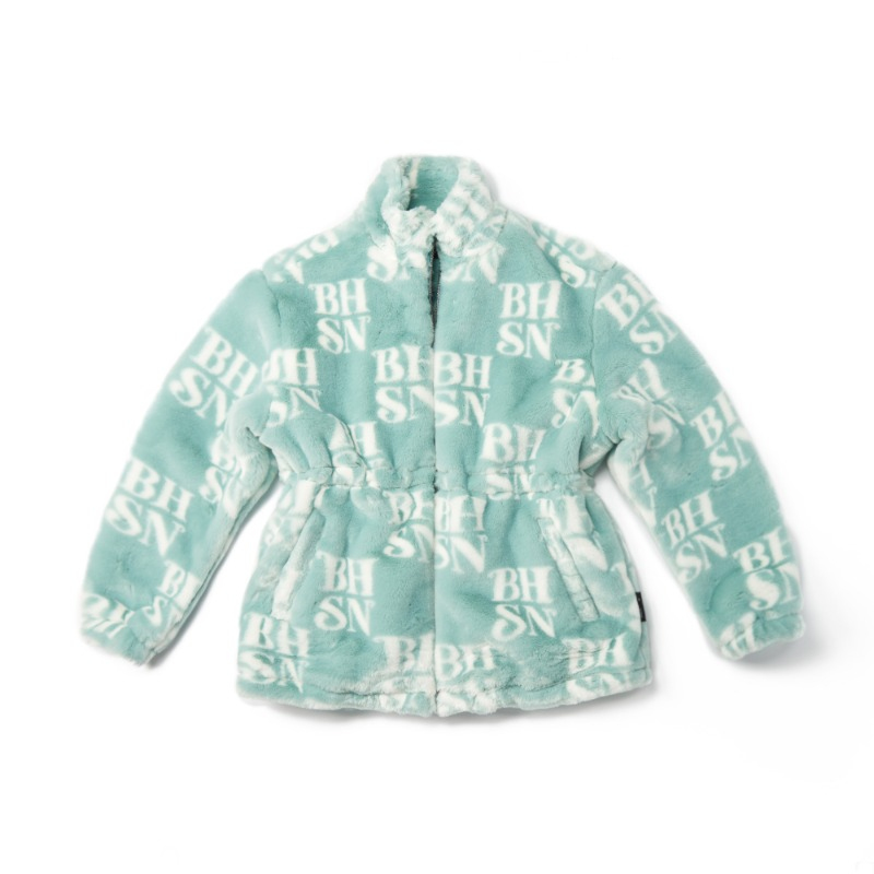 BHSN Fur Jacket_Mint