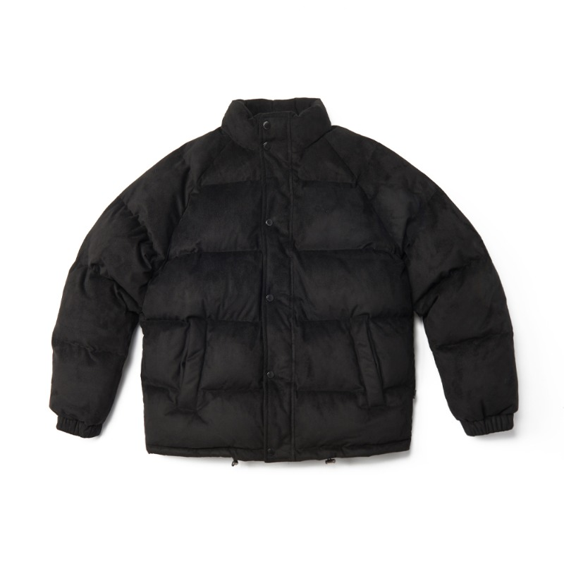 Suede Down Jacket_Black