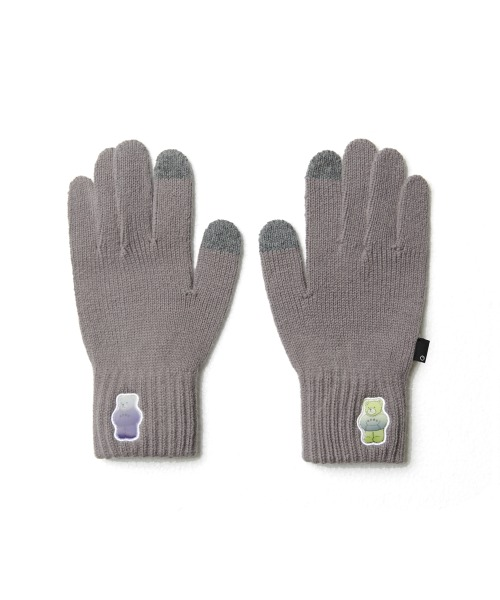 Double Patch Glove_Grey
