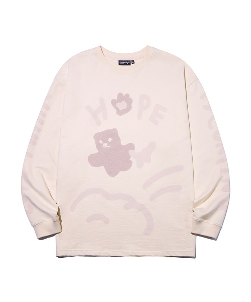 HOPE Graffiti Long Sleeve_Indi Pink