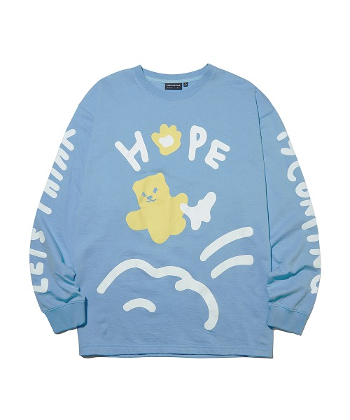 HOPE Graffiti Long Sleeve_Sky Blue