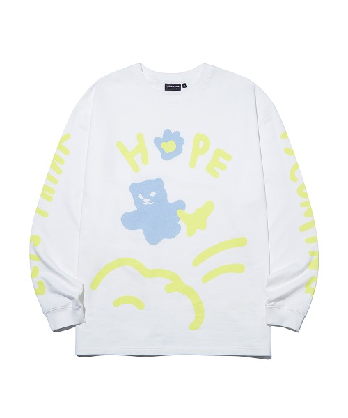 HOPE Graffiti Long Sleeve_White