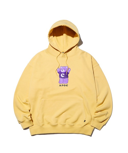 Signature Bear Hoodie_Canary